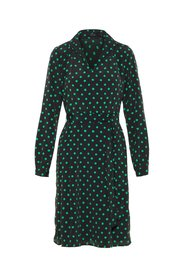 Dress Long sleeved dotted