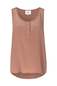 THORI VEST TOP, MOCHA MOUSSE