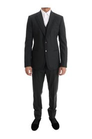Wool Slim Fit Two Button 3 Piece Suit