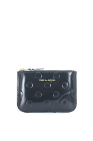 Wallet inblack calf leather
