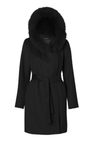 Lucinda's wool coat