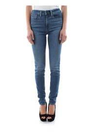 LEVIS 18882 0331 - 721 HIGH RISE JEANS Women DENIM MEDIUM BLUE