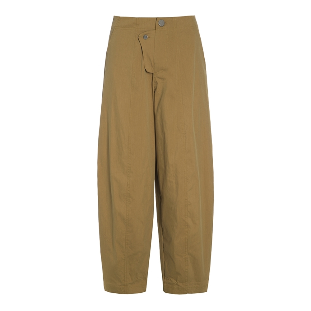 CHINLON COTTON TROUSERS WITH BUTTONS