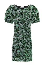 T2808 Printed Mesh Mini Dress - Kelly Kjoler