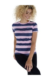 Grace stripe slim fit t-shirt gestreept