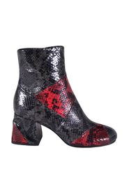 python print ankle boots