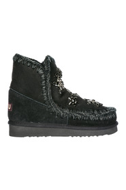 women's suede ankle boots booties Eskimo 18 crystal stars