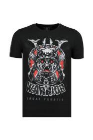 Savage Samurai - Merk T shirt Heren