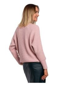 Sweter Prążek Pod Szyję