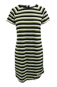 Striped T-Shirt Dress -Pre Owned Condition Very