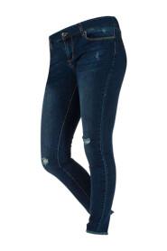 Marineblå Place du Jour Jeans