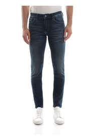 CALVIN KLEIN JEANS J30J306682 SKINNY-NOVA JEANS Men DENIM MEDIUM BLUE