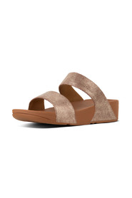 Tan Fitflop Shimmy Slide Suede