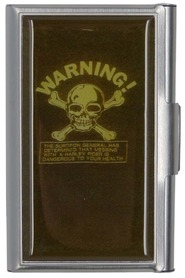 C.C etui, Warning