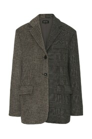 Emily Blazer Checked Combined