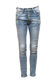 Jewelly Jeans med Zip