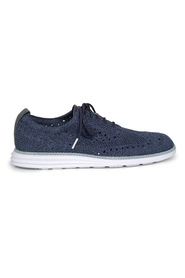 Stitch Wingtip Oxford Sneakers