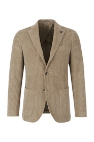 Straight corduroy jacket