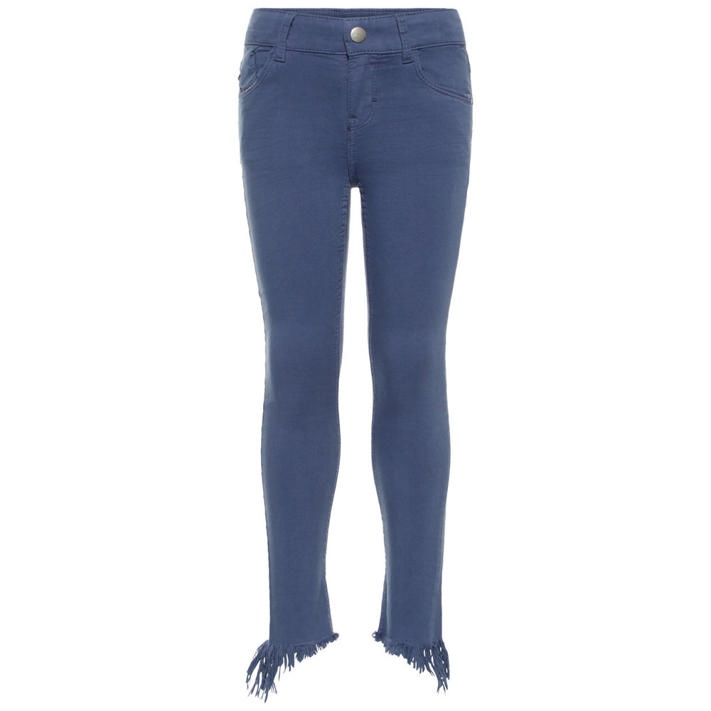 Twill Pants cropped skinny fit