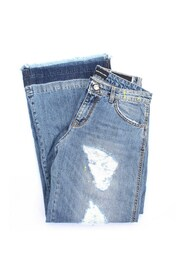 2345D006 Cropped  Jeans