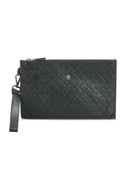 Pre-owned Medusa Clutch Bag Leather Calf Italy