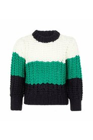 Pullover cropped chunky