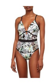 Swimwear One-Piece Tropical