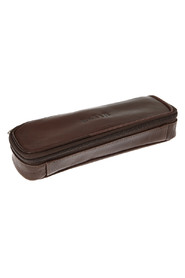 Boxer pencil case in leather