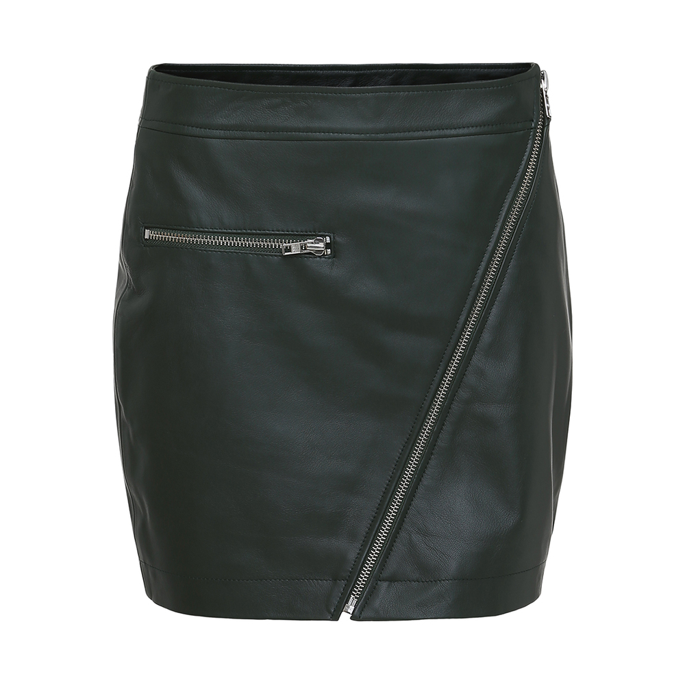 Bettie Leather Skirt