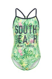 Swimsuit Palm printed