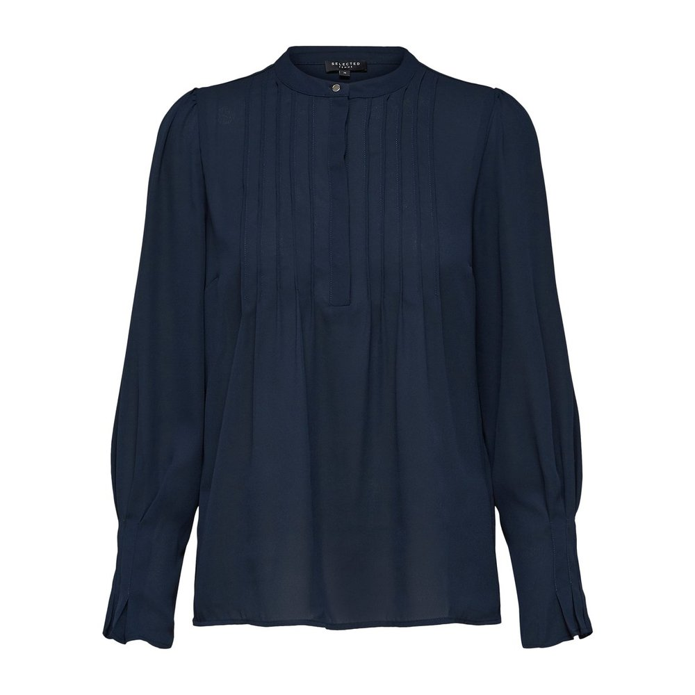 Long Sleeved Top Pleated