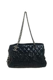 pre-owned Quilted Leather Paris Moscow Chain Bag