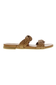 Mila 516-b braided straps slippers