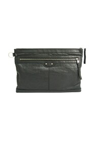 Pre-owned  Clip L 273023 Leather Clutch Bag