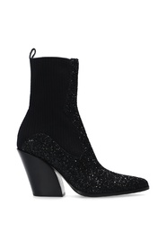 'Mele' knitted ankle boots