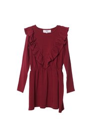 KNAST by KRUTTER - Agnes Dress - Bordeaux