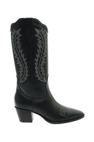 Texan Mid Leather Boots