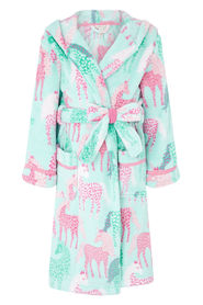 Aqua Monsoon Kids Sustainable Unicorn 12-13 Years 11-12 Years Kids Nightwear Nightwear Robes