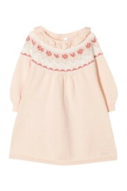 Dress with Embroidered Detail