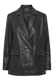 Figaro Leather Blazer