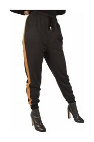 Pantalone jogging con banda laterale