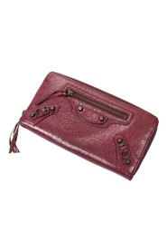 Pre-owned Continental Zip Wallet