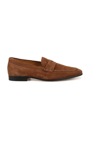 Suede light loafers