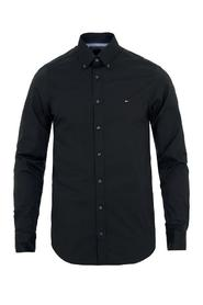 Tommy Hilfiger Slim Fit Poplin Shirt Black