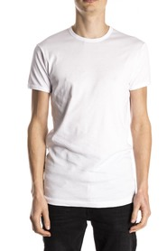 Slater T-Shirt Body Fit Round Neck White