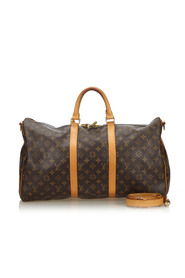 Monogram Keepall Bandouliere 50 Canvas