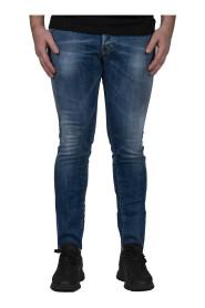 Medium Sandy Wash Slim Jeans