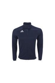 Blå Adidas Tiro17 Jakke