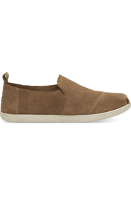Toffe Suede Toms Desconstructed Alpargata