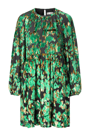 Sienna Velvet Jacquard Dress